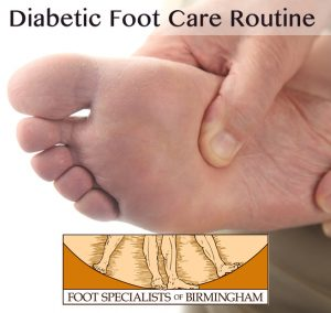 Diabetic Foot Care Routine