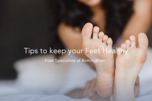 Tips to keeping your feet healthy